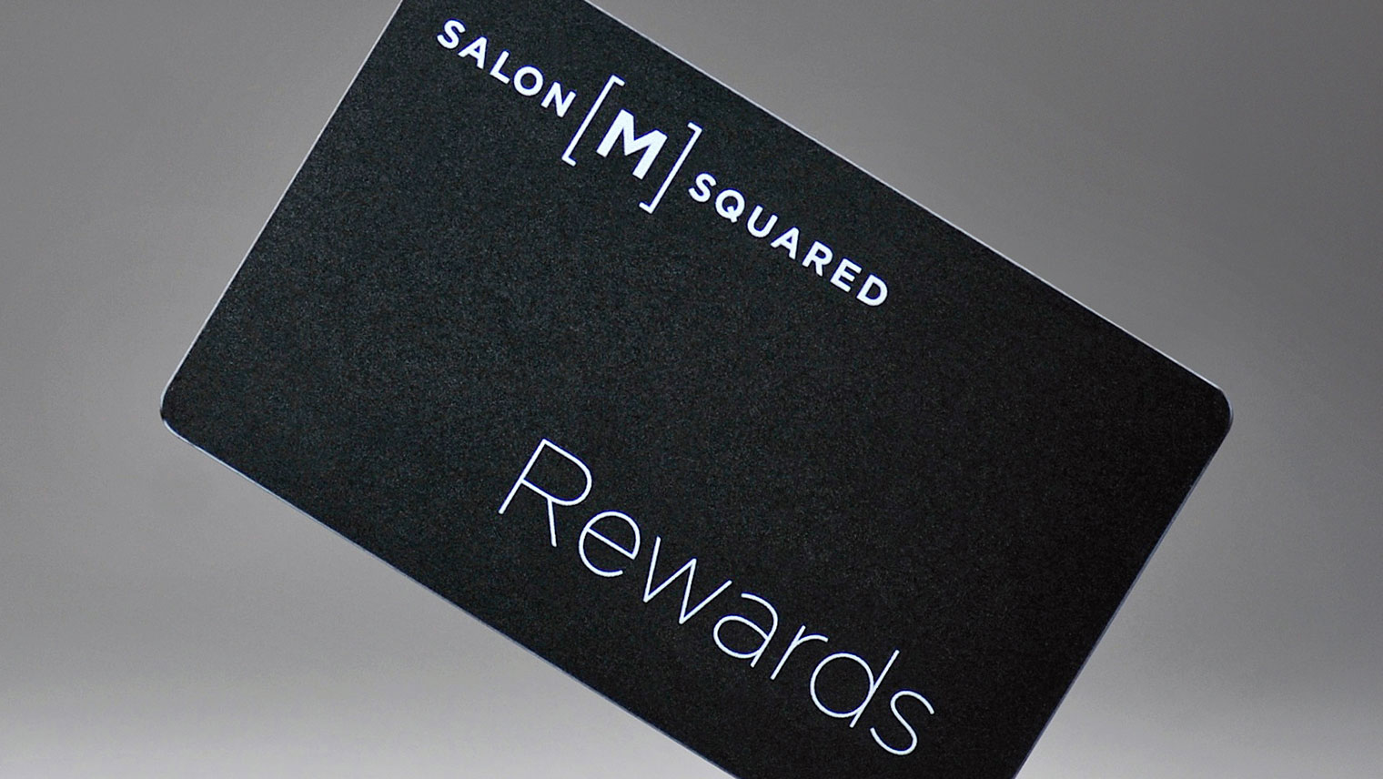 Salon M Squared in North York | Hair Salon Rewards Card